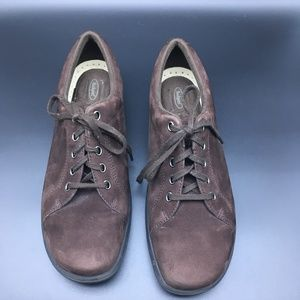 Shoes - Rockport WW411 Women's Brown Suede Ocford